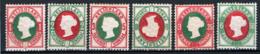 Germania Heligoland 1875 Unif.10/15 */MH VF/F - Héligoland