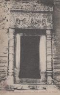 Cambodge - Prasat Bakong - Porte Intérieur Temple - Sculpture - Archéologie - Archaeological Park - Cambodge