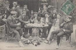 """Commerce - Café Zig-Zag - """"Les Bois Sans Soif"""" - Absinthe Suze - Singe Macaque - Byrrh - 1911 - Cafés"""
