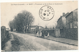 BRIEY - Promenade Du Roi De Rome, Gendarmerie - Briey