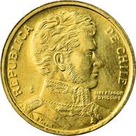Monnaie, Chile, 10 Pesos, 2006, Santiago, SUP, Aluminum-Bronze, KM:228.2 - Chile