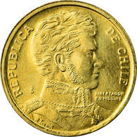 Monnaie, Chile, 10 Pesos, 2006, Santiago, SUP, Aluminum-Bronze, KM:228.2 - Chili