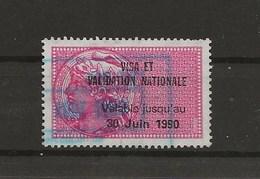 FISCAUX DE FRANCE  CHASSE Timbre N°173 VISA Et VALIDATION NATIONALE 1990 - Fiscaux