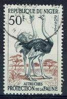 Niger, Ostrich, 50f., 1959, VFU - Niger (1960-...)