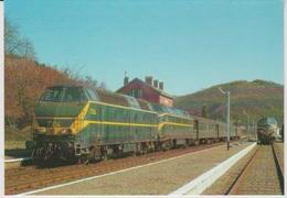 CP - TRAINS - LOCOMOTIVES - Locomotive Diesel-HYDRAULIQUE BB Série 75. - Trains