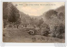 ORCHIMONT ..--  Pont De La Gouffre Aux 2 Eaux . 1908 Vers BXL ( Mr Oscar VANDERSTRAETEN ) . Voir Verso . - Vresse-sur-Semois