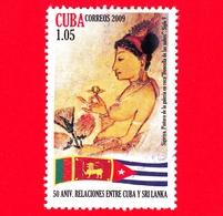 CUBA - Usato - 2009 - 50 Anni Relazioni Tra Cuba E SRI LANKA - 1.05 - Cuba