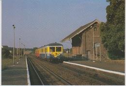 CP - TRAINS - LOCOMOTIVES - Ligne SNCB 166 Dinant-Bertrix - Autorails 4509 Et 4505 Pondrome. - Treni