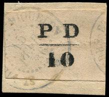 SAINT PIERRE ET MIQUELON 16A : 10c. Noir, Obl. S. Fragt, TB. Certif. Miro - St.Pierre Et Miquelon