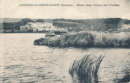 LONGPRE LES CORPS SAINTS - HUTTE DANS L'ETANG DES TOURBES - France