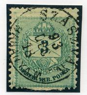 SZÁSZVÁR 3Kr (érdekes Bélyeg)  Szép Bélyegzés  /  3  Kr Nice Pmk (intr. Stamp) - Hungary