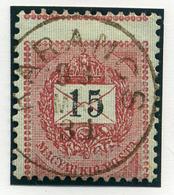 KARANCS 15Kr (elfogazva)  Szép Bélyegzés  /  15  Kr Nice Pmk (special Perforation) - Hungary
