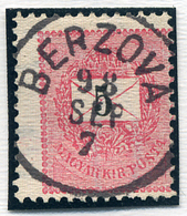 BERZOVA 5Kr (elfogazva)  Szép Bélyegzés  /  5  Kr Nice Pmk (special Perforation) - Hungary