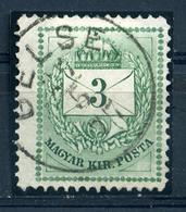 GELSE 3Kr ((elfogazva)  Szép Bélyegzés  /  3  Kr Nice Pmk - Hungary