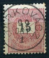 JARKOVÁC 5Kr Szép Bélyegzés  /  5  Kr Nice Pmk - Hungary