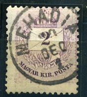 MEHÁDIA 2Kr (elfogazva) Szép Bélyegzés  /  2  Kr Nice Pmk  (special Perforation) - Hungary