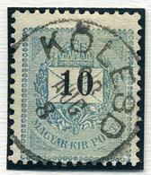 KÖLESD 10Kr, Szép Bélyegzés  /  10  Kr Nice Pmk - Hungary
