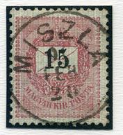 MISZLA 15Kr, Szép Bélyegzés  /  15  Kr Nice Pmk - Hungary
