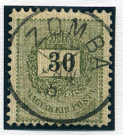 ZOMBA 30Kr, Szép Bélyegzés  /  30  Kr Nice Pmk - Hungary