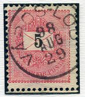 VÁROSLŐD 5Kr (elfogazva) , Szép Bélyegzés  /  5 Kr  (special Perforation) Nice Pmk - Hungary