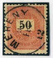 MERÉNY 50Kr Szép Bélyegzés  /  50 Kr Nice Pmk - Hungary