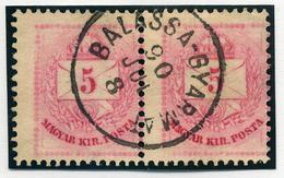 BALASSAGYARMAT 5Kr (elfogazott Pár) Szép Bélyegzés  /  5 Kr  (special Perforation) Nice Pmk - Hungary