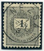 NÉZSA 1Kr  Szép Bélyegzés  /  1 Kr Nice Pmk - Hungary