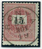 RÓNYA 15Kr  Szép Bélyegzés  /  15 Kr Nice Pmk - Hungary