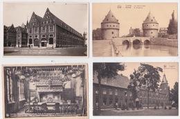 4 Postkaarten  KORTRIJK.  Zie Scan - Kortrijk