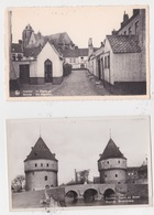 2 Postkaarten  KORTRIJK.  Zie Scan - Kortrijk