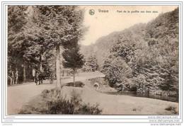 ORCHIMONT ..--   Pont Du Gouffre Aux 2 Eaux . 1912 Vers CORBION ( Mlle Justine BOUCHEZ ) . Voir Verso . - Vresse-sur-Semois