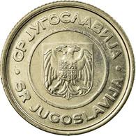 Monnaie, Yougoslavie, 2 Dinara, 2000, Belgrade, SUP, Copper-Nickel-Zinc, KM:181 - Yougoslavie