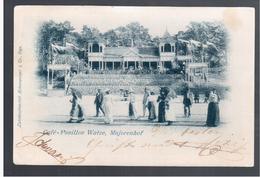 Majorenhof Cafe- Pavillon Watze 1898 OLD POSTCARD - Russie