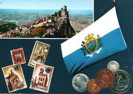 BELLISSIMA CARTOLINA SAN MARINO E829 - San Marino