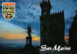 BELLISSIMA CARTOLINA SAN MARINO E833 - San Marino