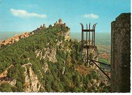 BELLISSIMA CARTOLINA SAN MARINO E835 - San Marino