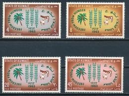 °°° KUWAIT - Y&T N°184/87 - 1963 MNH °°° - Kuwait