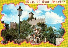 BELLISSIMA CARTOLINA SAN MARINO E836 - San Marino