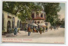 TURQUIE CONSTANTINOPLE  1900  Carte RARE Coin De La Rue Yolou No 1484 Edit Max Fruchtermann  Photo Sebah   D06 2019 - Turquie