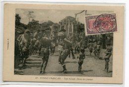 CONGO Francais Type Bacoulis Danse Des Femmes Poitrines Nues 1919 Timbrée Collection J.F  No 28     D06 2019 - Congo Français - Autres