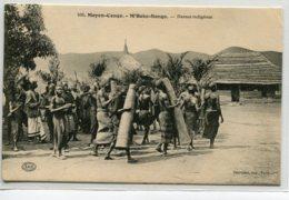 MOYEN CONGO M'BOKO SONGO Danses Indigènes Femmes Poitrines Nues No 108 Dauvissat Imprm  -     D06 2019 - Congo Français - Autres