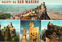 BELLISSIMA CARTOLINA SAN MARINO E843 - San Marino