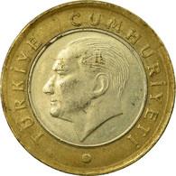 Monnaie, Turquie, Lira, 2014, TTB, Bi-Metallic - Turquie