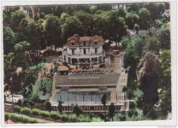 EN AVION AU DESSUS DE VILLENNES SUR SEINE RESTAURANT EDEN ROC AVEC SA PISCINE OLYMPIQUE - Villennes-sur-Seine