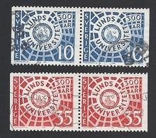 Schweden, 1968, Michel-Nr. 605-606 D/D, Gestempelt - Usati