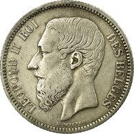 Monnaie, Belgique, Leopold II, 2 Francs, 2 Frank, 1866, TTB, Argent, KM:30.1 - 1865-1909: Leopold II