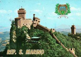 BELLISSIMA CARTOLINA SAN MARINO E852 - San Marino