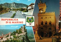 BELLISSIMA CARTOLINA SAN MARINO E857 - San Marino