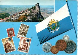 BELLISSIMA CARTOLINA SAN MARINO E859 - San Marino
