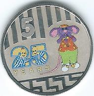 Australia - Elizabeth II - 2017 - 5 Cents - 25th Anniversary Of Bananas In Pyjamas - Only 30,000 Minted - Moneta Decimale (1966-...)